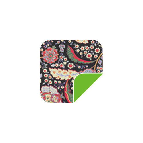 P022 Plumage Flowers/Green-P022 Plumage Flowers/Green
