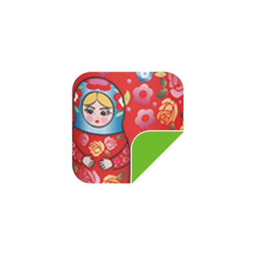 P53 Red Russian doll-P53 Red Russian doll