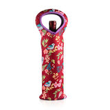 Heart-Shaped Handle Single-Bottle Wine Tote -FR-W001B