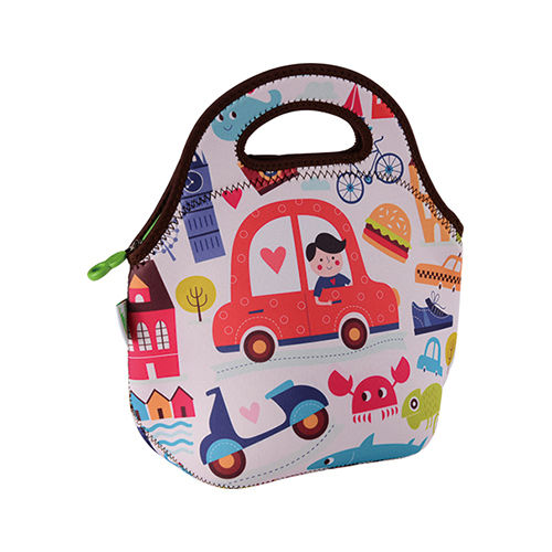 Freeman Gourmet Getaway Neoprene Lunch Tote: Childhood Car-FR-W010