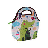 Freeman Gourmet Getaway Neoprene Lunch Tote: Cute Crocodile -FR-W010
